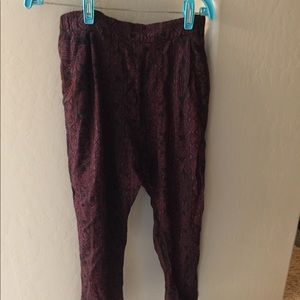 Tribal print pants from BDG